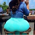 Photo of The Day; This Woman's Bum was Too Big for One Seat (OMG! SEE FULL PHOTO)