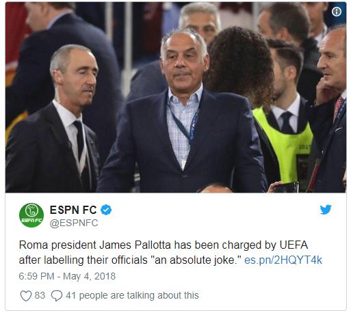 ESPN FC James Pallotta
