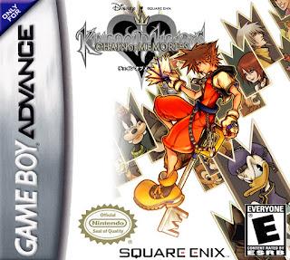 Rom de Kingdom Hearts: Chain of Memories em PT-BR - GBA - Download