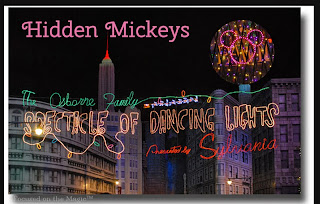 Hidden Mickey Hunting: The Osborne Family Spectacle of Dancing Lights