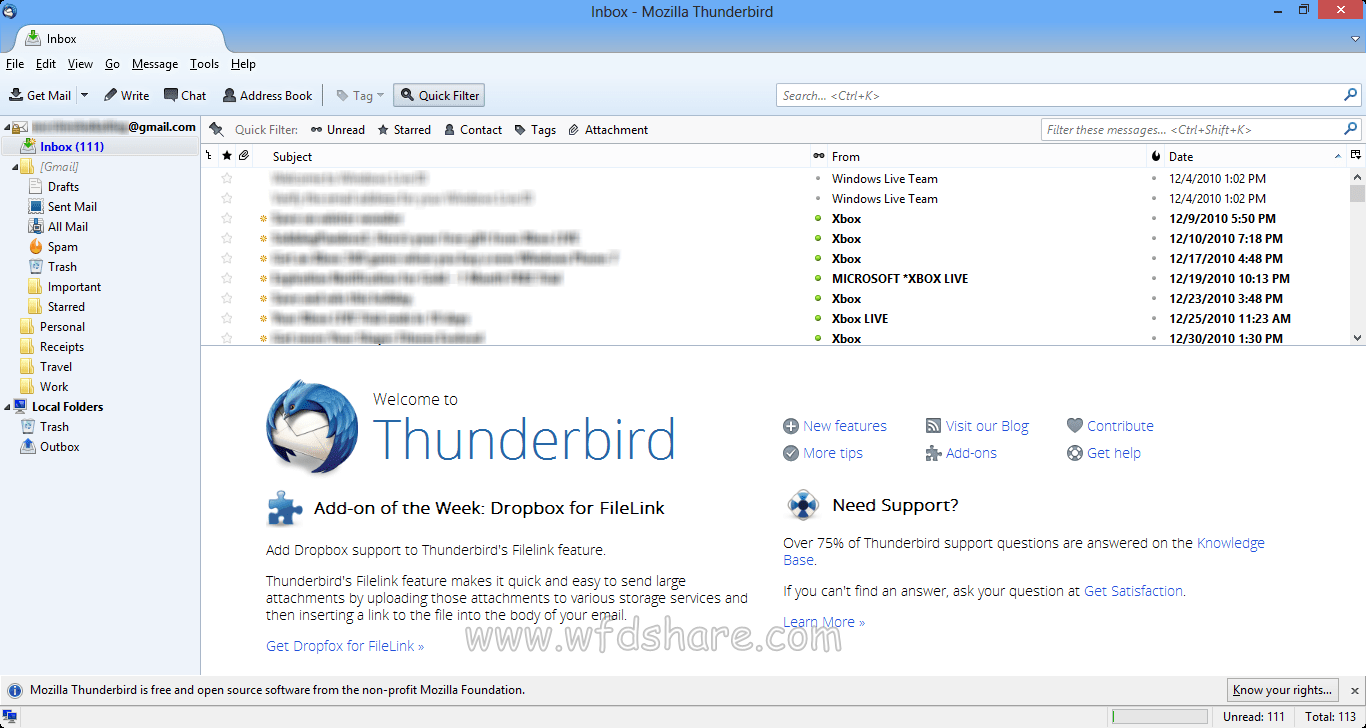 Mozilla Thunderbird download full