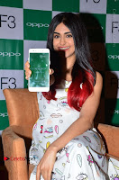 Bollywood Actress Adah Sharma Pos in White Printed Short Dress at OPPO F3 Plus Selfie Expert Mobile Launch .COM 0048.jpg