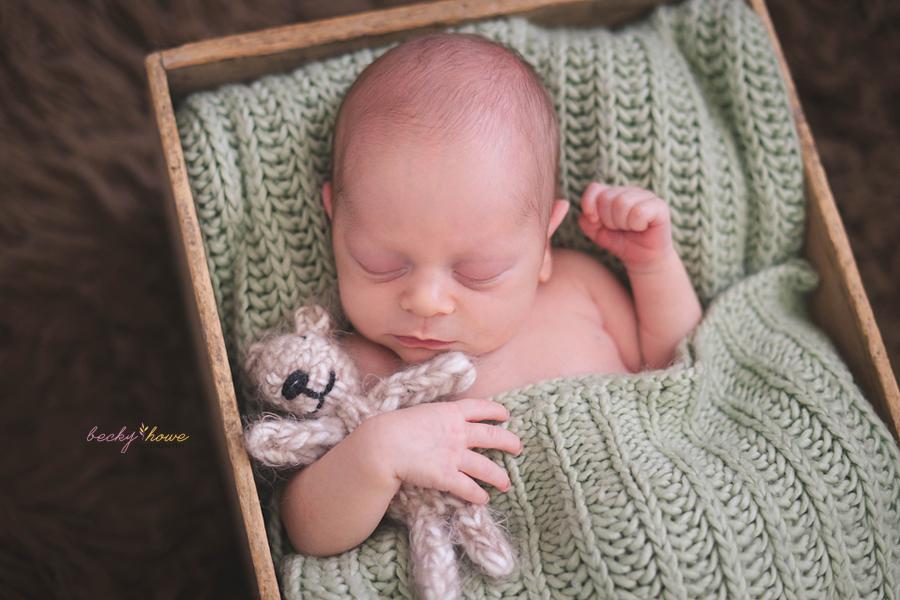 omaha newborn photographer photography sleeping