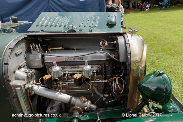 Bentley's engine on display. TD 6059