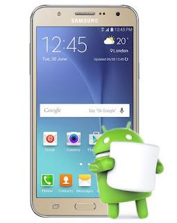 Samsung Galaxy J7 2016 SM-J710F Marshmallow J710FXXU2AQB3 OTA Update