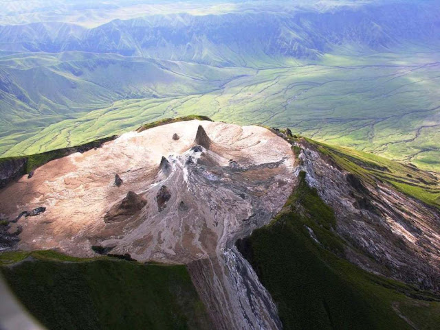 'Mountain of God' the Weirdest Volcano in the World