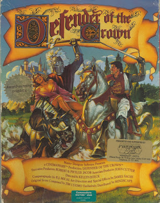 DEFENDER OF THE CROWN (COMMODORE 64)