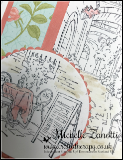 stampin' Up! UK Mediterranean moments stamping Petal Garden designer series paper dsp watercolour simple