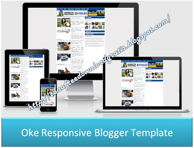Oke Responsive Blogger Template