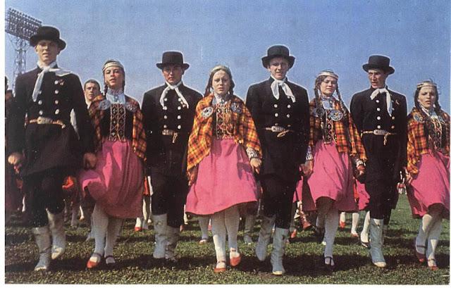 1970 год. ХV праздник песни, посвященный 100-летию со дня рождения Ленина и 30-й годовщине восстановления Советской власти в Латвии