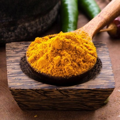 Turmeric herbal face pack for fairness and skin lightening