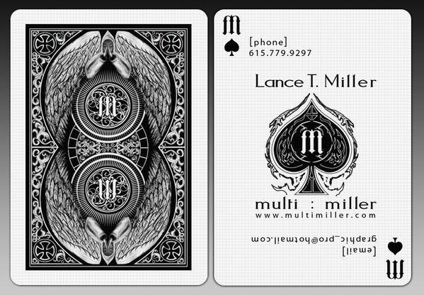 kartu nama keren ini untuk bermain remi