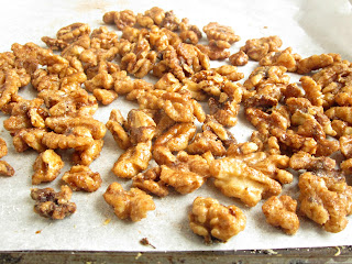 Cinnamon Candied Walnuts