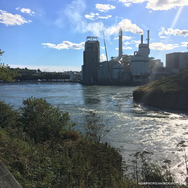The Reversing Falls in Saint John New Brunswick - Andrea Tiffany A Glimpse of Glam