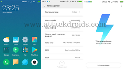 ROM MIUI 9 Global Beta For 7.9.7 Andromax ES