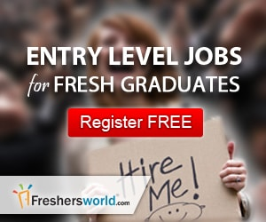 Submit Your Resume - Freshers Jobs