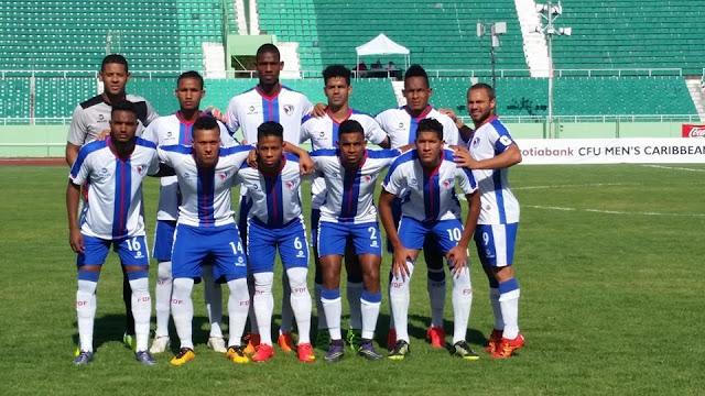 República Dominicana vence a Barbados 2-0 y gana grupo  4-Copa del Caribe
