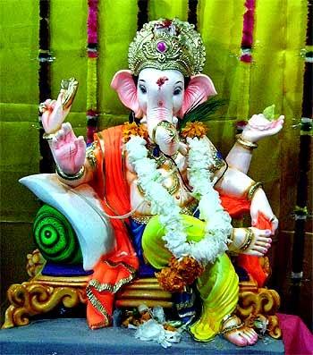Hd wallpaper ganpati - Ganpati Images And Wallpapers Of Ganesh Murti