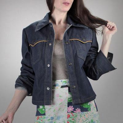 50s denim jacket