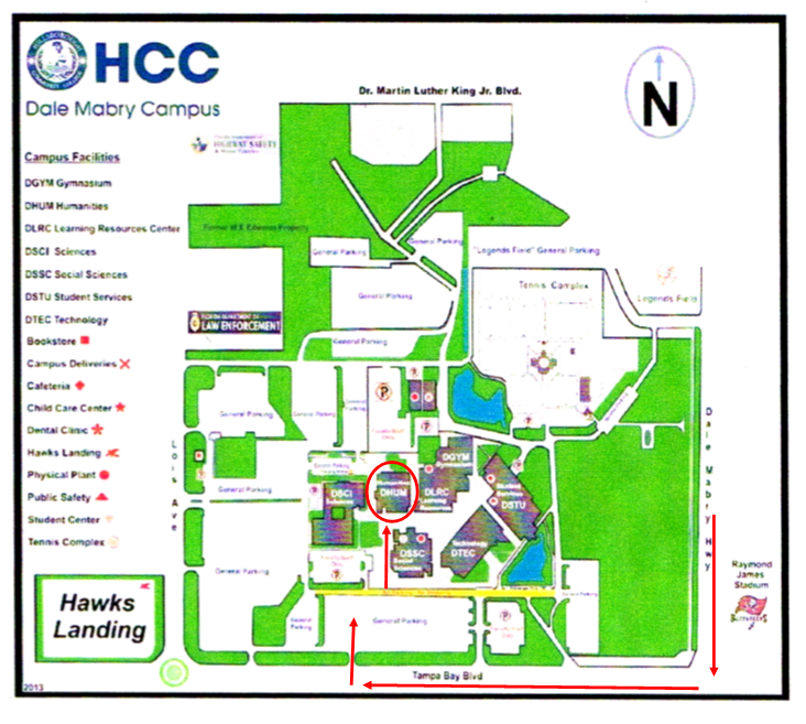 Hcc Brandon Campus Map A Painter's Palette: Map to HCC Gourmet Room for My Show