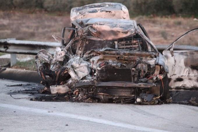 Κάηκαν ζωντανοί μέσα σε Ι.Χ. - Τραγωδία στην Χρυσούπολη