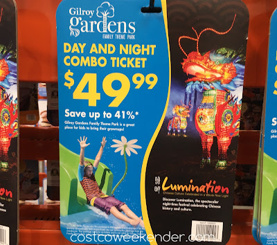 Enjoy Gilroy Gardens during the day and Illumination at night with the Gilroy Gardens Combo Ticket