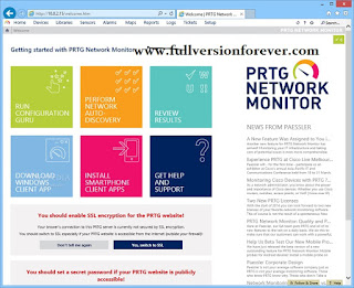 PRTG Network Monitor full serial key or number