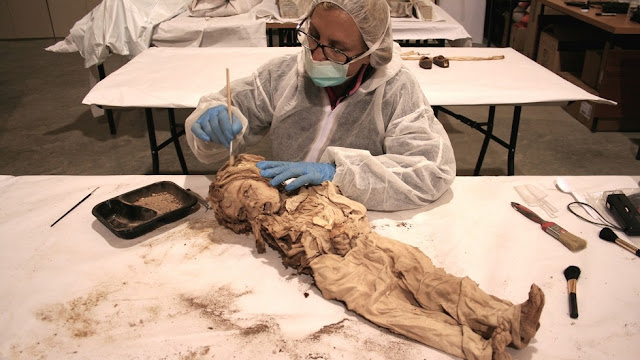 'Van Gogh' mummy found in Spanish church