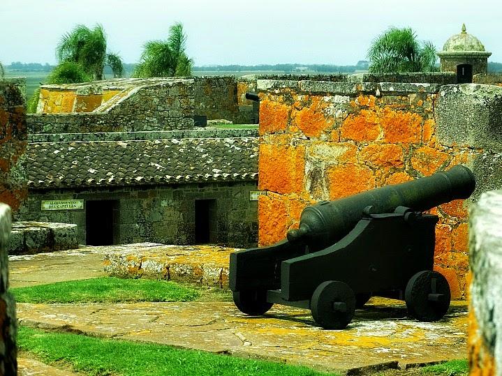 Forte de São Miguel, no Chuy, Uruguai.