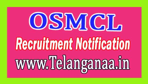 Odisha State Medical Corporation Limited OSMCL Recruitment Notification 2017