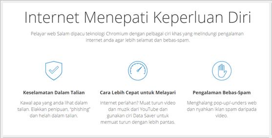 Salam Browser - Internet Menepati Keperluan Diri