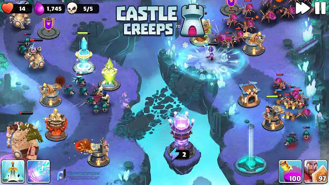 Download Castle Creeps TD Mod Apk Latest Version