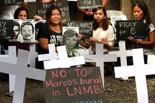 Final plea to stop Marcos hero's burial