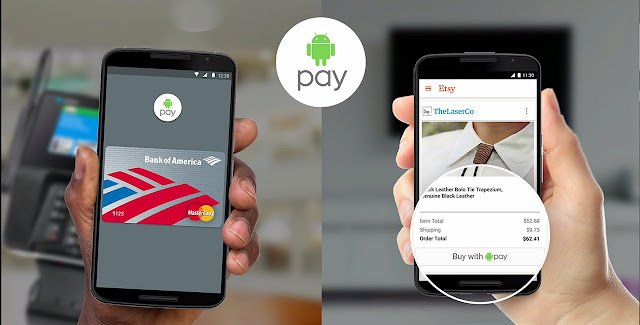 Mengagumkan, Android Pay Siap Gantikan Kartu Kredit