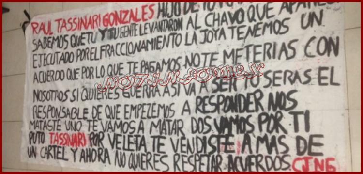 """""""Nos mataste uno te vamos a matar dos"""", CJNG dejan amenaza contra el Coord. de SSP en Playa de Carmen"""