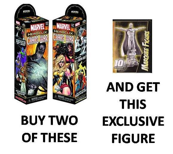 Free Comic Book Day Heroclix: ComicStoreWest: HeroClix Chaos War Special