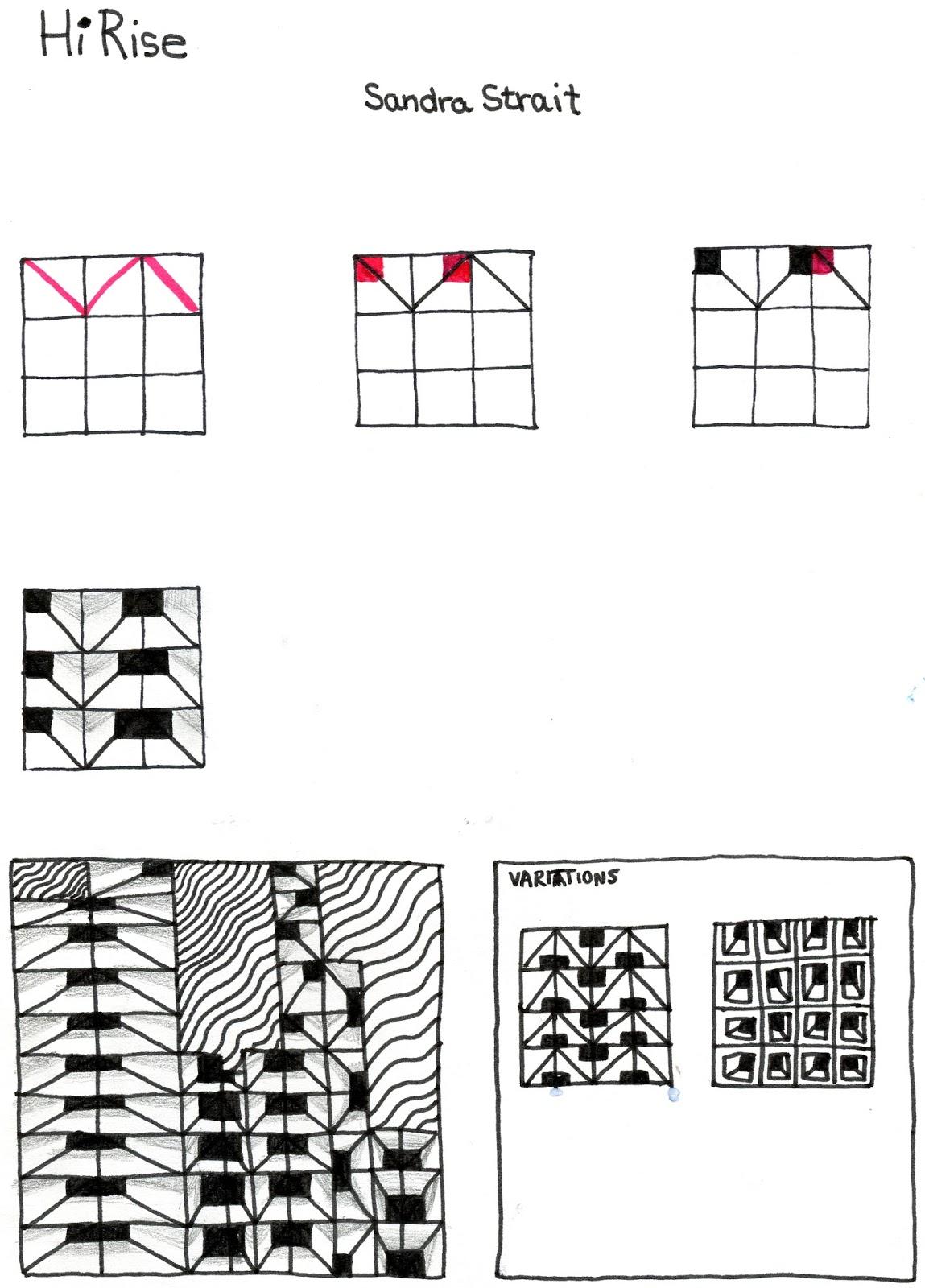 Tangle Patterns Amazing Decorating Ideas