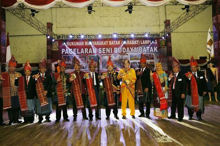 Gubernur Ridho Minta Warga Batak Perkuat Kebhinekaan Lampung