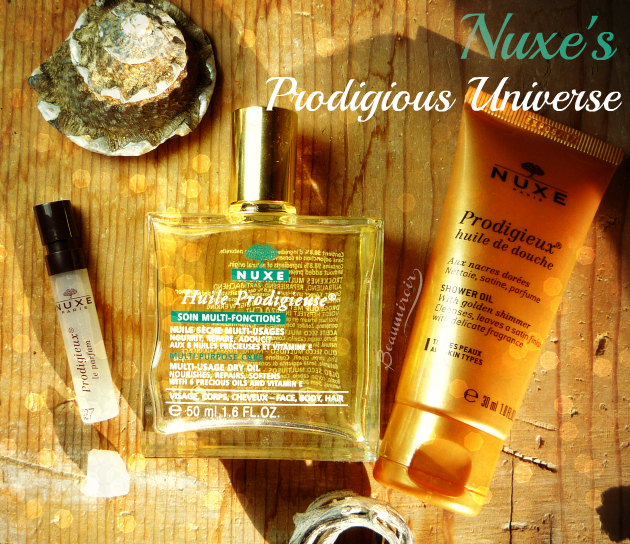 Discover Nuxe's Prodigieux line, inspired by the scent of iconic Huile Prodigieuse!