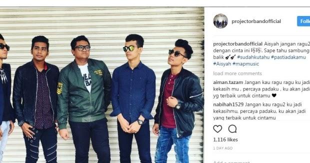 #PENJELASAN ~ Kami tak curi lagu Aisyah - Projector Band ...