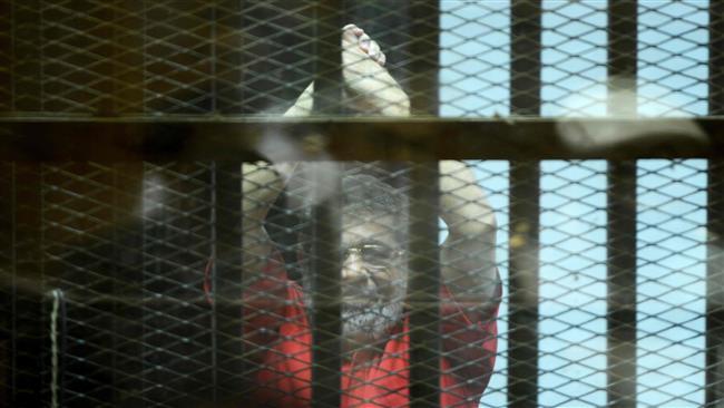 Egypt court upholds life sentence handed down to ousted President Mohamed Morsi