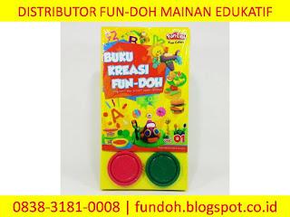 Fun-Doh Buku Kreasi Vol 01, fun doh indonesia, fun doh surabaya, distributor fun doh surabaya, grosir fun doh surabaya, jual fun doh lengkap, mainan anak edukatif, mainan lilin fun doh, mainan anak perempuan