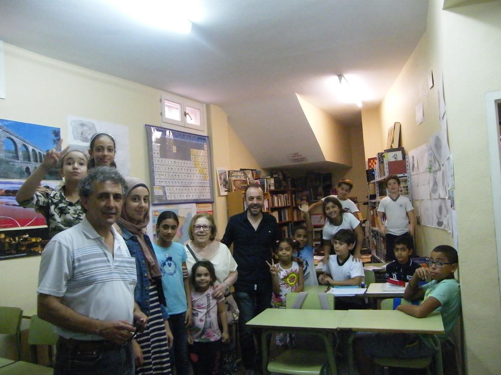 Ágora III Milenio: Donación de material: generosidad ciudadana
