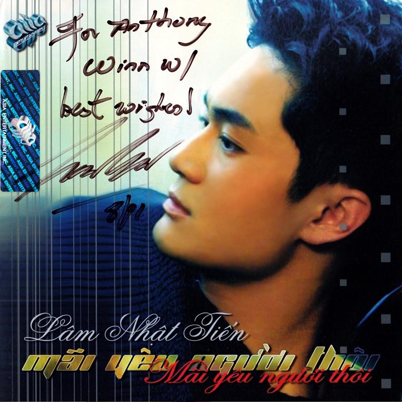 AsiaCD156 - Lâm Nhật Tiến - Mãi Yêu Người Thôi (NRG) + bìa scan mới