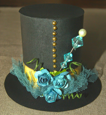 top hat, free tutorial and template from The Cherry On Top