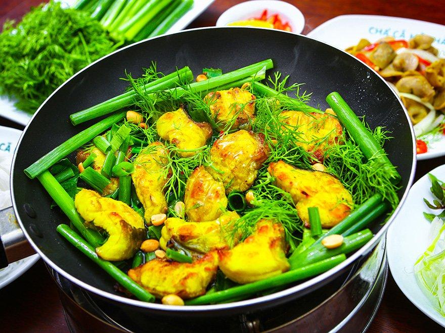 Du lịch Hà Nội với món ăn chả cá Lã Vọng