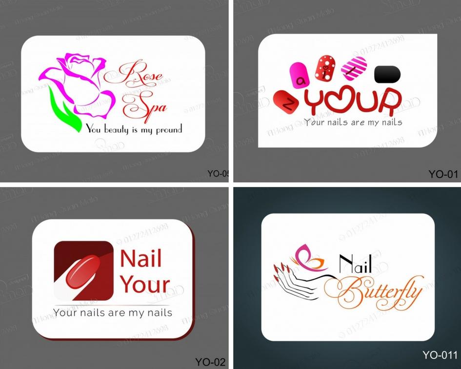 Nhng mu thit k logo tim nail p nht nm 2017 ...