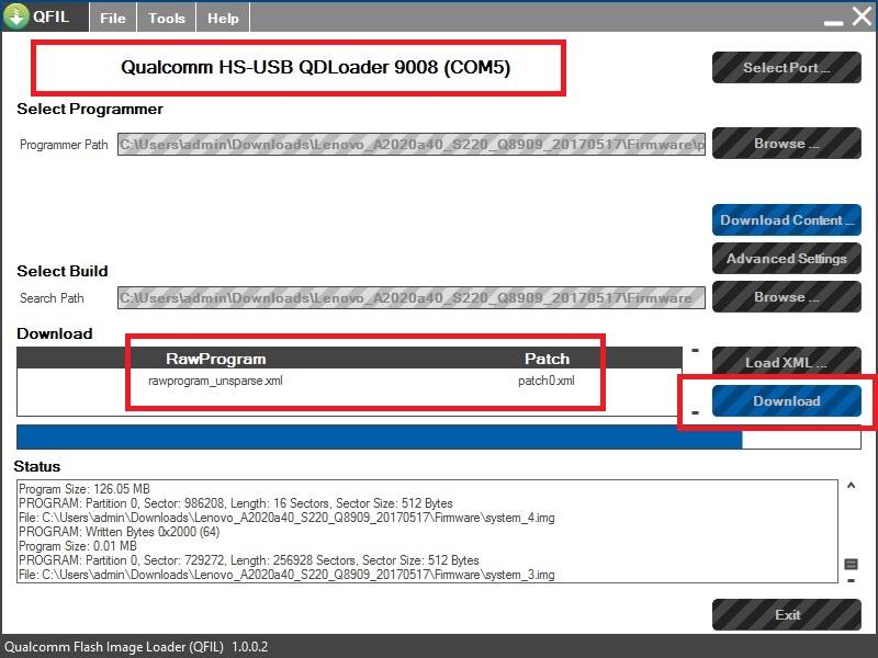 Lenovo A2020a40 Recovery Mode