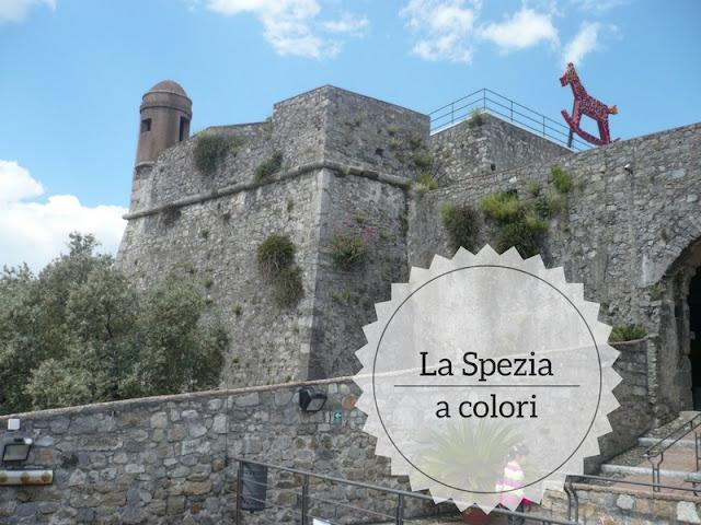 I colori della mia città e delle Langhe. Castello di san Giorgio alla Spezia
