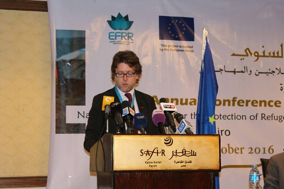 """المصرية لدعم اللاجئين"""" : نضع خطط لتفادي التحديات والمعوقات ولتحسين كفاءة خدمات المؤسسة"""